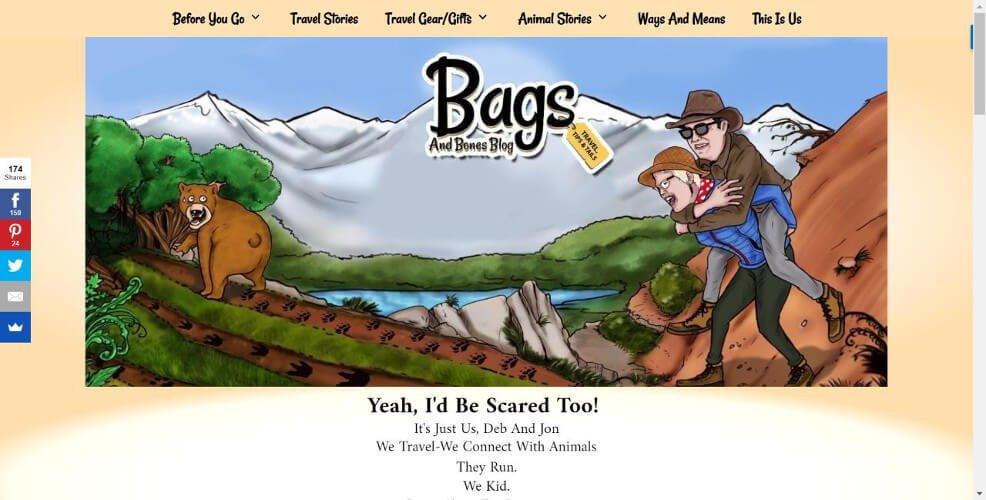 Travel Bags and Bones